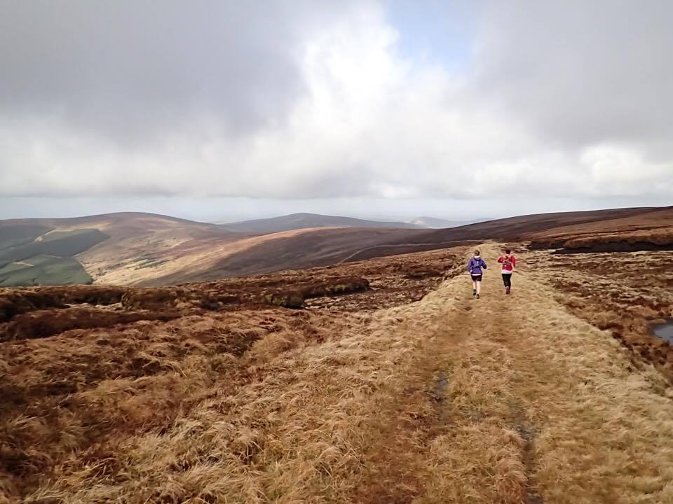 Table Mountain, County Wicklow with Siobhan Hayes, photo by Mark Kearns